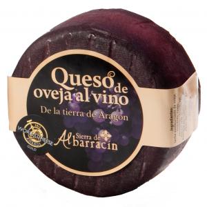 Queso al vino albarracín